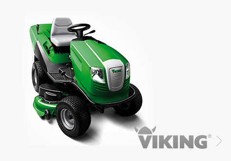 Viking Land Mower Tractor